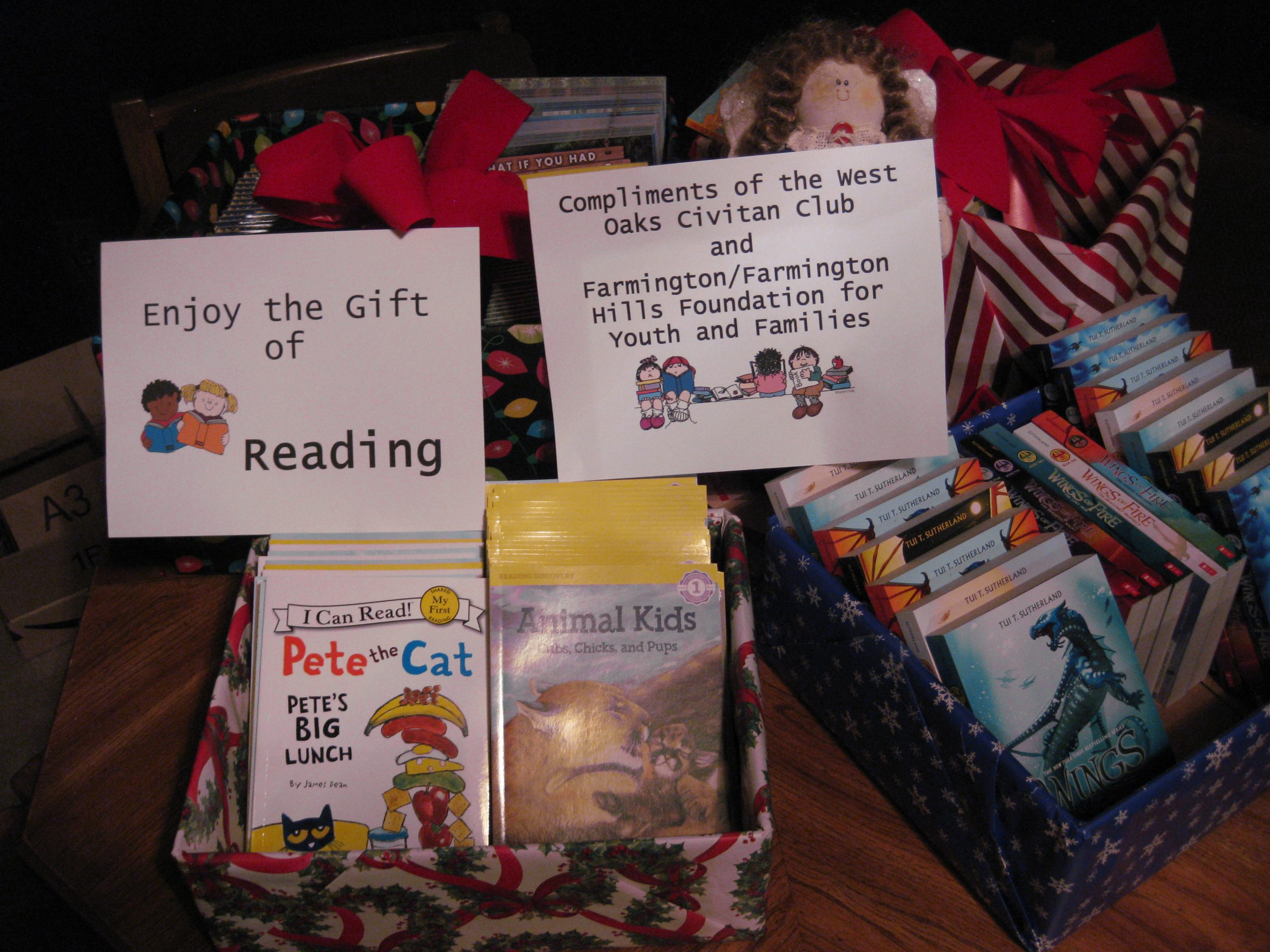 Enjoy the Gift of Reading